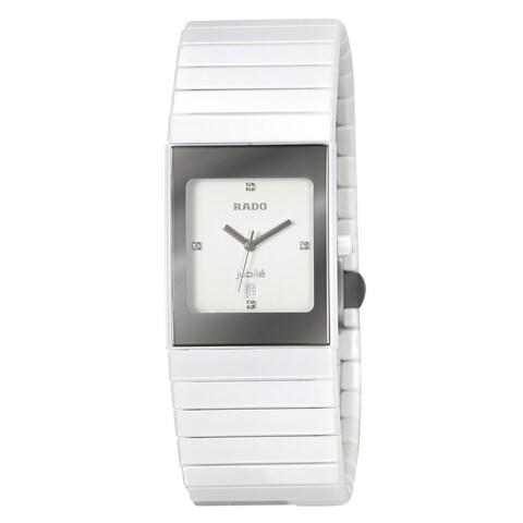 Rado Women's 'Ceramica' Ceramic Swiss Quartz Watch