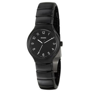 Rado Women's 'Rado True' Ceramic Swiss Quartz Watch