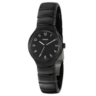 Rado Women's 'Rado True' Ceramic Swiss Quartz Watch|https://ak1.ostkcdn.com/images/products/8049383/8049383/Rado-Womens-Rado-True-Ceramic-Swiss-Quartz-Watch-P15407825.jpg?impolicy=medium