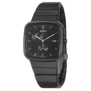 Rado Men's 'R5.5' Ceramic Swiss Quartz Watch