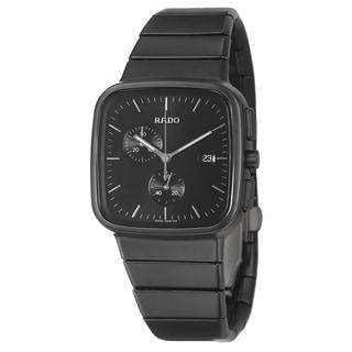 Rado Men's 'R5.5' Ceramic Swiss Quartz Watch