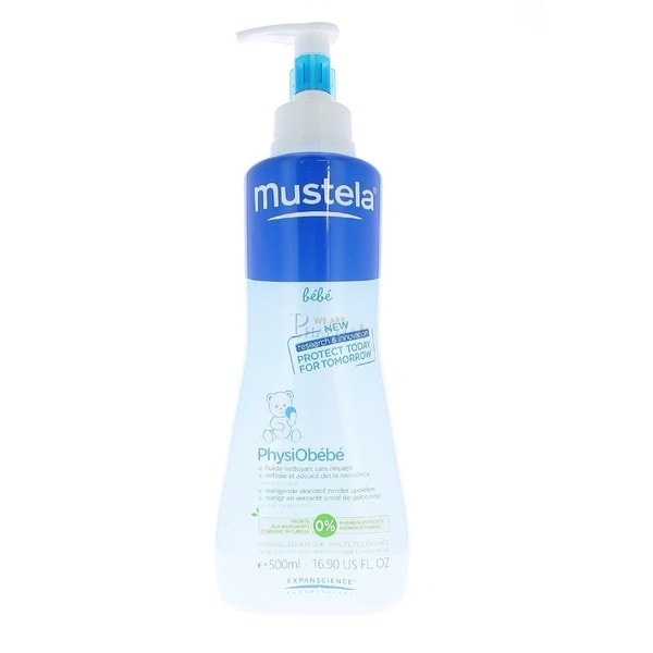 Mustela Physiobebe No Rinse Cleansing Fluid Kid's 10.14-ounce Cleanser