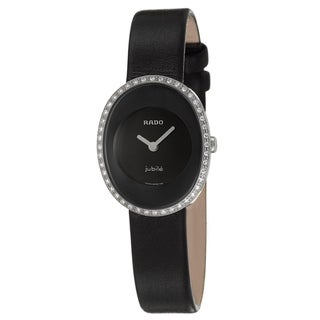 Rado Women's 'Esenza' Diamond-Accent Stainless-Steel Swiss Quartz Watch