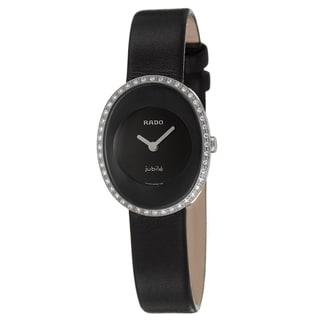 Rado Women's 'Esenza' Diamond-Accent Stainless-Steel Swiss Quartz Watch