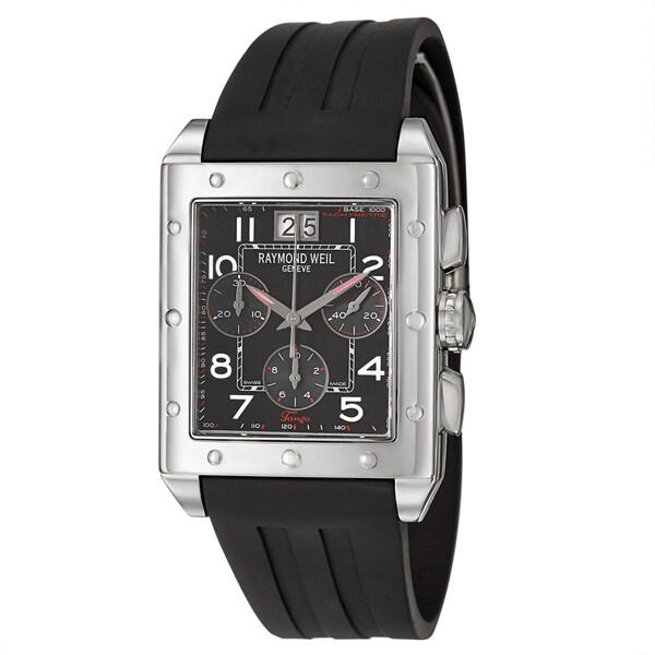 Weil Mens 4811 SR 05200 Tango Stainless Steel Swiss Quartz Watch