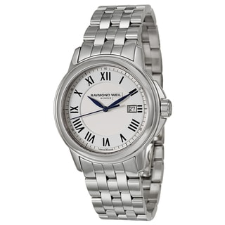 Raymond Weil Men's 'Tradition' Stainless Steel Swiss Quartz Watch