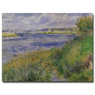 Pierre Renoir 'The Banks of the Seine Champrosay 1876' Canvas Art