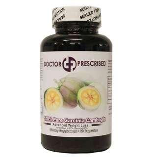 Doctor Prescribed Pure Garcinia Cambogia (60 Capsules)