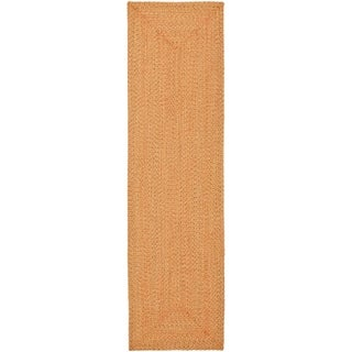 Safavieh Brown Reversible Braided Multi Cotton Rug (2'3 x 6')