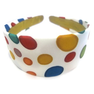 Crawford Corner Shop Retro Multi Color Circles Headband