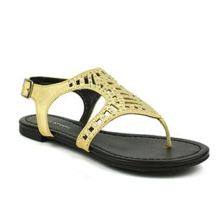 Mark & Maddux Women's 'Tyson-03' Studded Sandals