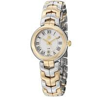 Tag Heuer Women's 'Link' Silver Dial Two-tone Stainless Steel Watch