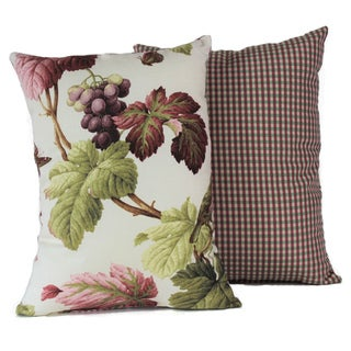 Shannon Coral Decorative Throw Pillow (Set of 2)
