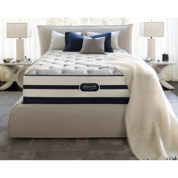 Simmons Beautyrest Recharge Issa Plush Queen-size Mattress Set