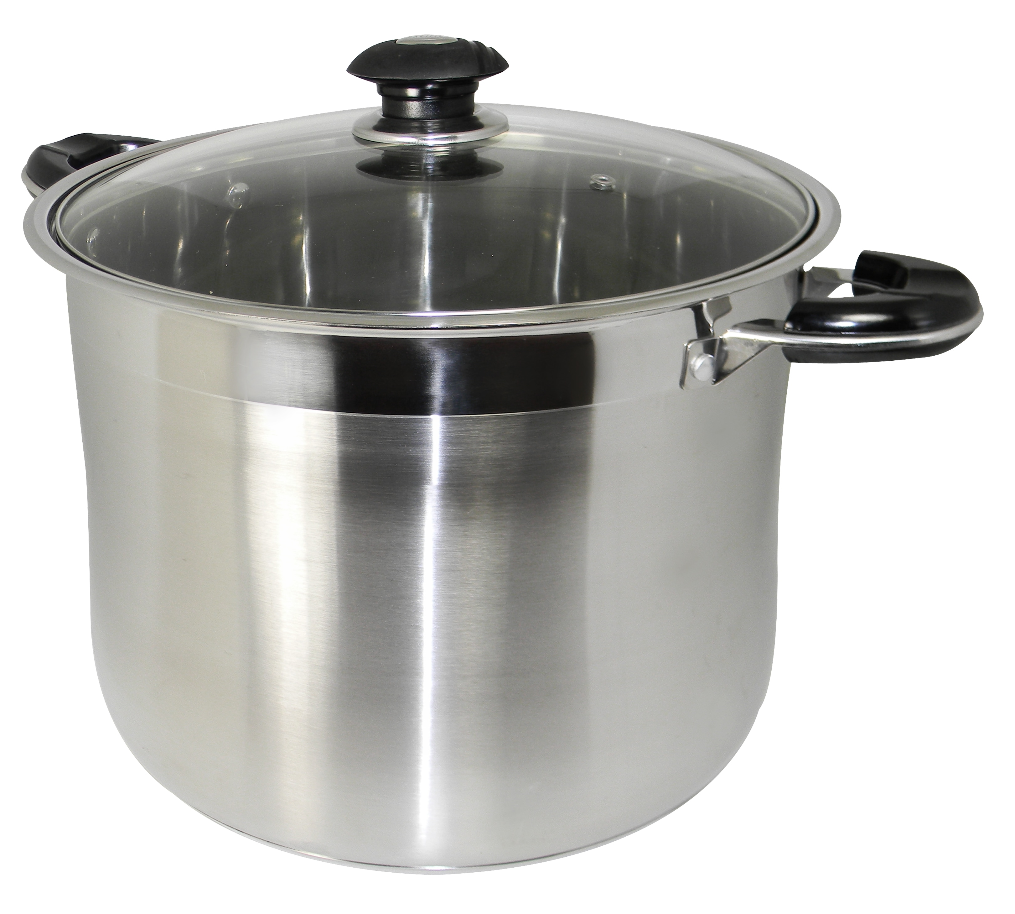 CONCORD 40 QT Stainless Steel Stockpot Brew Kettle w// Lid Heavy Cookware
