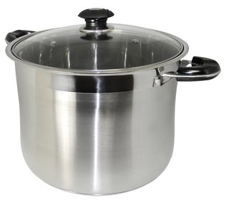 Link to Concord 18/10 Stainless Steel 16-quart Heavy-duty Gourmet Tri-ply Stockpot Similar Items in Cookware