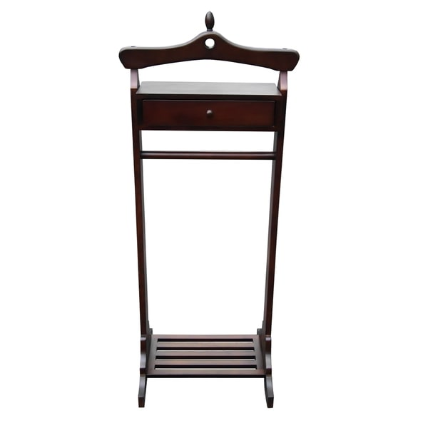 Shop Office Accents Mahogany Royal Valet Coat Hanger Rack Stand Interesting Office Coat Racks