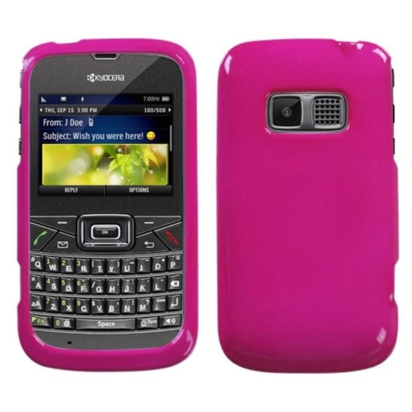 BasAcc Solid Hot Pink Case for Kyocera S3015 Brio