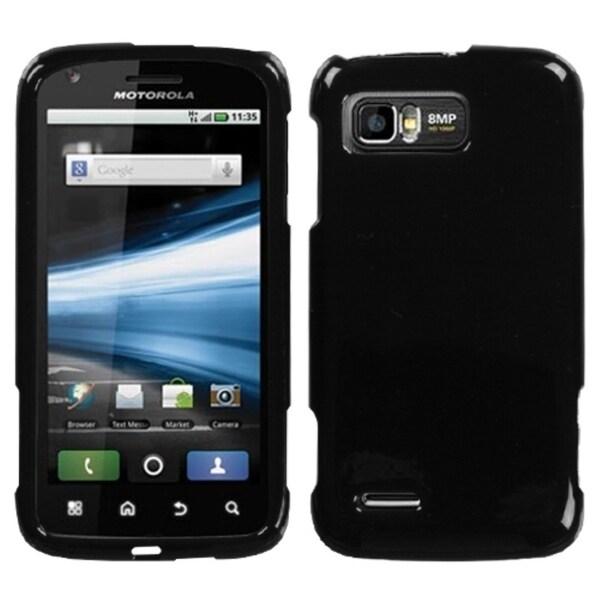 INSTEN Solid Black Phone Case Cover for Motorola MB865 Atrix 2 - Free ...