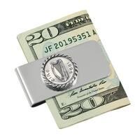 Irish '5 Pence' Money Clip