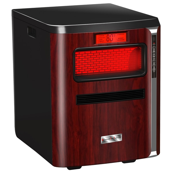 Heat Pure Plus All-in-One Infrared Quartz Portable Heater / Humidifier / Air Purifier / HEPA Filter