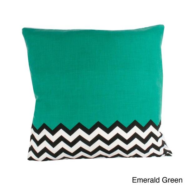 Lucy Half Chevron20-inch Decorative Throw Pillow