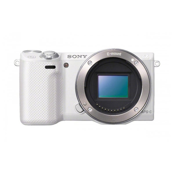 Sony Alpha NEX-C3 White Body Only Digital Camera