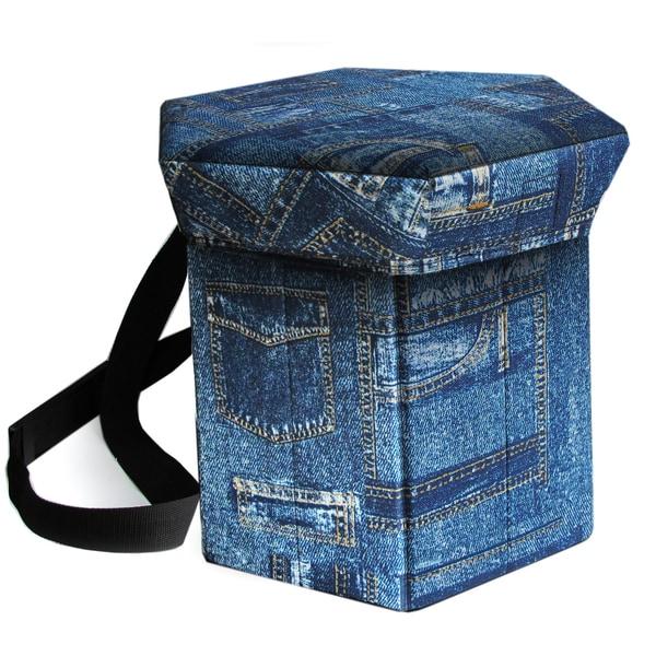Blue Denim Insulated Cooler