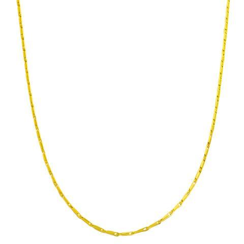 Fremada 14k Yellow Gold Small Link Chain