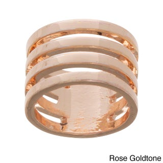 NEXTE Jewelry Plated Devotion Four-band Ring