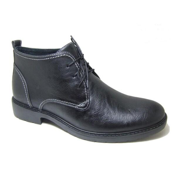 Ferro Aldo Men's Leatherette Ankle Desert Boots