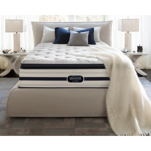 Beautyrest Recharge Lilah Luxury Firm Pillow Top King Size Mattress Set Free Shipping Today
