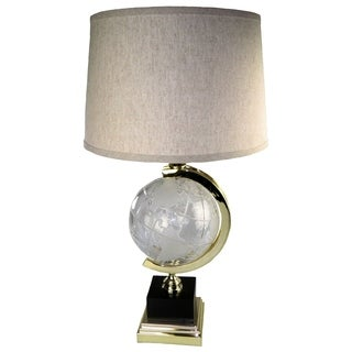Globe Crystal Table Lamp