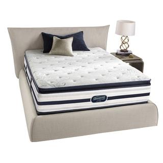 Beautyrest Recharge Lilah Plush Pillow Top Queen-size Mattress Set