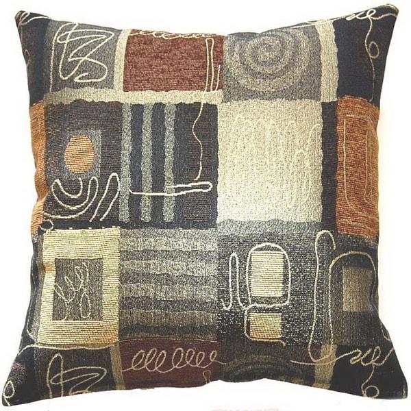 Lana Bronze 17-inch Throw Pillows (Set of 2)