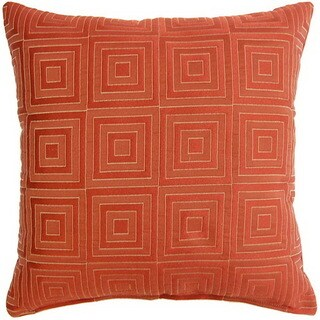 Squared Brick 17-inch Throw Pillows (Set of 2)