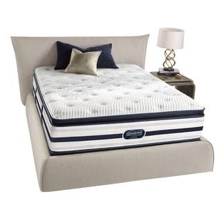 Beautyrest Recharge Reynaldo Plush Pillow Top Queen-size Mattress Set
