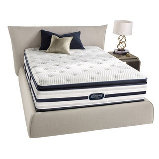 Beautyrest Recharge Reynaldo Plush Pillow Top Queen-size Mattress Set