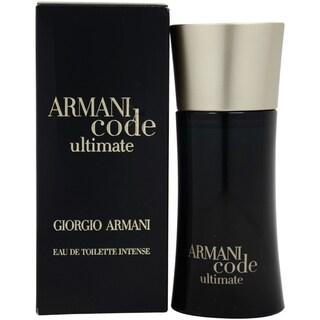 Giorgio Armani Code Ultimate Men's 1.7-ounce Eau de Toilette Spray
