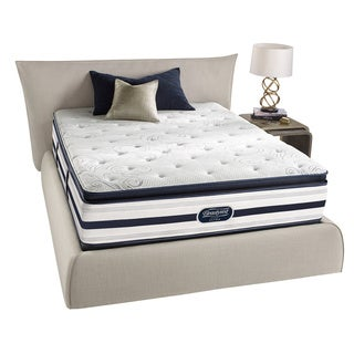 Beautyrest Recharge Lilah Plush Pillow Top King-size Mattress Set