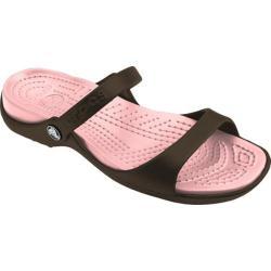 Women's Crocs Cleo Chocolate/Cotton Candy - Thumbnail 0