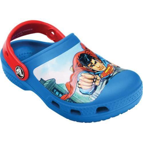 Boys' Crocs Creative Crocs Superman Clog Sea Blue/Red