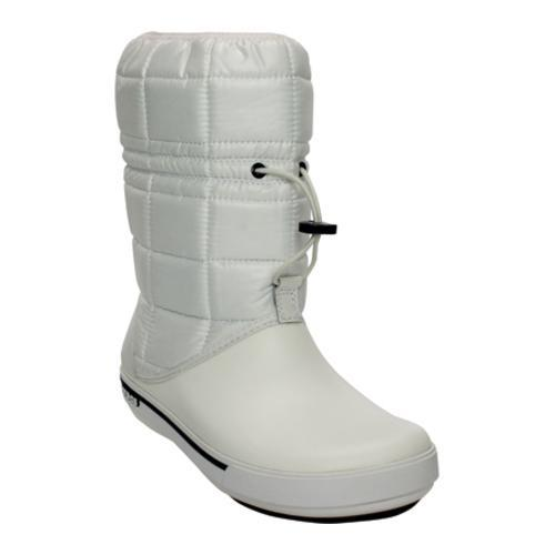 6052defd99b Shop Women s Crocs Crocband™ II.5 Winter Boot White Navy - Free Shipping  Today - Overstock - 8052869