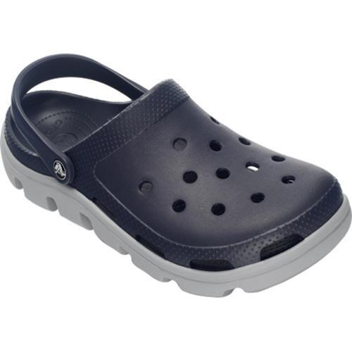 b3342e546fcc73 Shop Crocs Duet Sport Clog Navy Light Grey - Free Shipping Today -  Overstock - 8052938