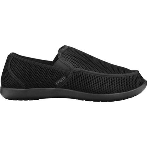 Men's Crocs Santa Cruz Rx Black/Black - Thumbnail 1