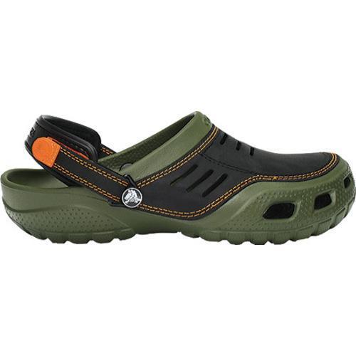 Men's Crocs Yukon Sport Army Green/Black - Thumbnail 1