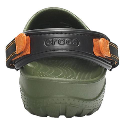 Men's Crocs Yukon Sport Army Green/Black - Thumbnail 2