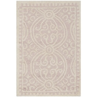 "Safavieh Handmade Cambridge Moroccan Light Pink/ Ivory Rug (2'6"""" x 4')"