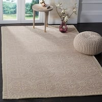 Safavieh Handmade Cambridge Moroccan Light Pink/ Ivory Rug - 10' x 14'
