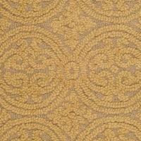 "Safavieh Handmade Moroccan Cambridge Light Gold/ Dark Gold Wool Rug - 2'-6"" x 4'"